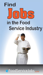 Food Service Jobs graphic